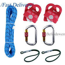 """Hauling Pulley System 18"""" Prusik Loop with Progress Capture Rescue Arborist Zrig"""