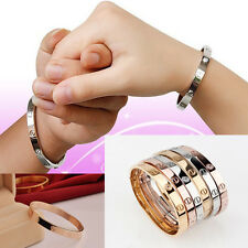 Wholesale  Lady/mens Jewelry Love 925Silver Bangle Bracelet Chain