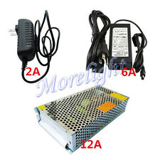 DC 2/6/12A 12V Power Supply Switch Transforer Converter Adapter Driver LED CCTV