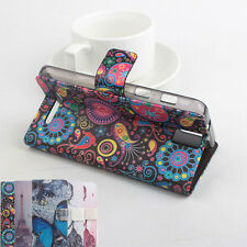 "Folio Painted Leather Case Cover Skin Luxury For 5.5"" ZOPO ZP999 Smartphone"