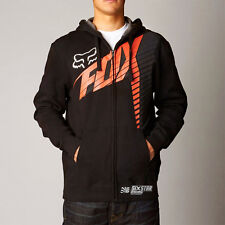 Fox Racing Black Horizon Moto Zip Hoodie Sweatshirt Hoody Sweater fleece