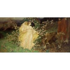 William Blake Richmond - Venus And Anchises c1889 Art Vintage-Style Poster
