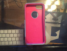 OtterBox Commuter Series iPhone 5/5S/SE Grey/Pink Dual-Layer Protection Case