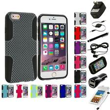 For Apple iPhone 6 Plus (5.5) Hybrid Mesh Shockproof Case Cover 7X Accessories
