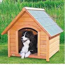 Dog House Outdoor Large Pet Bed Puppy Kennel  Dogs Shelter Insulated Wood Small