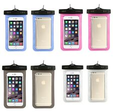 Waterproof Underwater Pouch Dry Bag Case For iPhone Cell Phone Touchscreen US