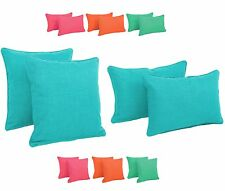 Patio Throw Pillows Garden Decorative Cushions Outdoor Accent Pillow Cushion Set