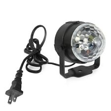 3 LED RGB Magic Crystal Effect Ball Light Stage Lighting for DJ Club Disco Party