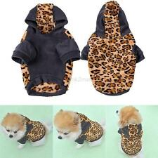 Small Pet Dog Puppy Cat Sweater Hoodie Jumpsuit Coat Clothes Outwear XS/S/M/L/XL