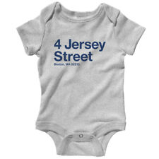 Boston Baseball Stadium One Piece - Baby Infant Creeper Romper NB-24M - Red Sox