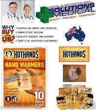 HOTHANDS HAND WARMER 2 PER PACK UP TO 10 HRS OF HEAT HAND WARMERS