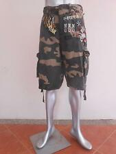 "Minute Mirth Camo Camouflage Soldier Air Force Bomber Shorts Cargo 32-40"" MMS71"