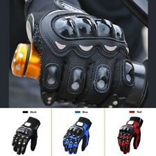 Pro-biker Sport Full Finger Armored Motorbike Motorcycle Motocross Racing Gloves