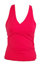 Margarita Red Top 521 Activewear Fitness Yoga NWT Supplex Workout Sz S M L