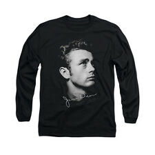 JAMES DEAN HEAD DEAN Licensed Men's Long Sleeve Graphic Tee Shirt SM-2XL