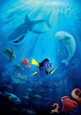 24X36Inch Art Finding Dory 2 2016 Movie Fabric Poster P004