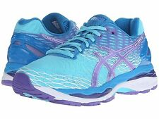 NIB Women's Asics Gel Nimbus 18 Running Shoes Choose Size TurBlu