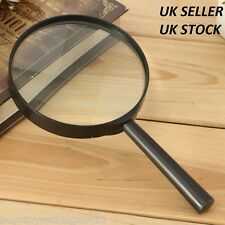60 90 100mm Magnifying Glass 3x Minimal Distortion Magnifier Optical Reading