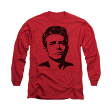 JAMES DEAN RED Licensed Men's Long Sleeve Graphic Tee Shirt SM-3XL