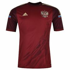 Adidas Russia Home Jersey 2015 Mens Red Football Soccer National