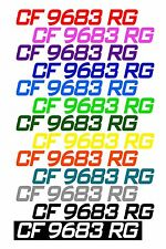 CUSTOM PWC & BOAT HULL IDENTIFICATION NUMBER REGISTRATION STICKER DECAL JET SKI