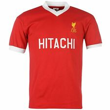 Liverpool FC 1978 Home Jersey Mens Score Draw Red/White EPL Football Soccer