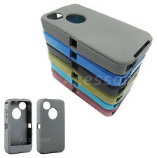 Silicone Rubber Replacement Outer Skin for Otterbox Defender Case for iPhone 4s