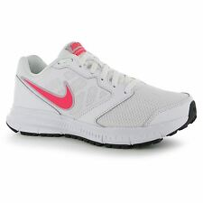 Nike Downshifter VI Running Shoes Trainers Womens White/Pink Jogging Sneakers