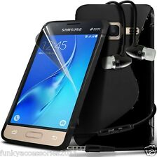 S-Line Wave Gel Case✔In Ear Stereo Headset for Samsung Galaxy J3 2016