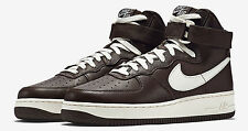 MENS NIKE AIR FORCE 1 HI RETRO QS SHOES chocolate sail 743546 200