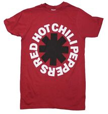 Brand New Red Hot Chili Peppers Black Asterisk Red T-Shirt