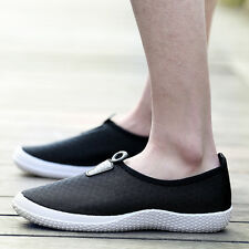 Men Casual Breathable Mesh Slip Lightweight Loafers  Driving Moccasins Shoes Z13