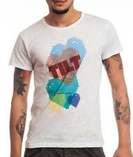 HOMEMADE FABRIC t-shirt Man white woman INSERT COIN TILT clothing Made in Italy