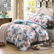 Quilt/Duvet Cover Single Double Queen King Size Bed Set Pillow Cases New Floral