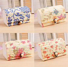 1pcs Chic Case Bamboo Wooden Jewelry Boxes Hot Storage Boxes Gift Box Jewelry