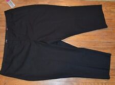Apt 9 Curvy Fit Straight Leg Capri Pants Mid Rise Size 24W Career Pant