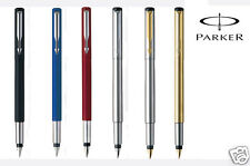 Parker Vector Std, Stainless Steel &Gold Fountain Pen