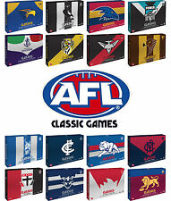 BRAND NEW AFL Classics DVD Box Sets | Various Teams | Hawthorn Collingwood Swans
