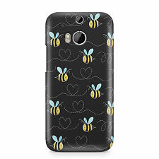 Bumble Bee bumblebee wasp insect honey flower cute phone case printed