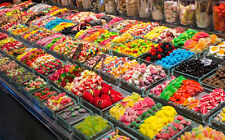Pick n Mix Sweets *250g* 50 Best Selling Retro Sweets - Buy 6 Get a 7th FREE!!