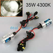 2 X 35W/55W Car HID XENON Replacement Head Slim Light Bulb H7 4300 6000 8000K