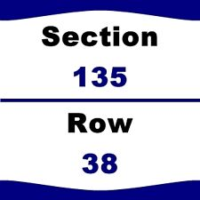 4 TIX Arizona Cardinals vs Los Angeles Rams 10/2 University of Phoenix Stadium