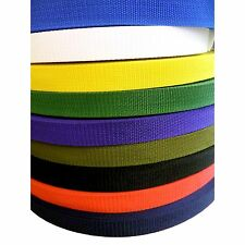 "Polypropylene Webbing 25 mm  1""  Wide for Leads  Straps and Strapping"