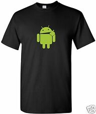 Eats Apple T-Shirt  Computer Geek Cell Phone S-3XL Black Apple Free Shipping