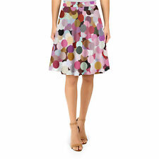 Girly Confetti A-Line Skirt Sizes XS-3XL Flared Skirt