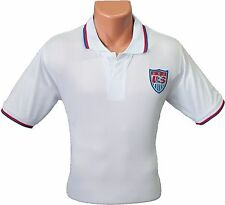 USA USMNT Copa America Polo Style National Team Soccer Futbol Jersey NEW
