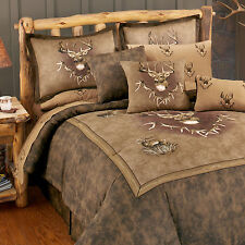 Whitetail Ridge Comforter Set & Sheets~Bed in Bag~Twin Full Queen King