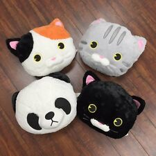 Cute Animal Face Cushion Pillow with Soft Blanket (Tokyo Japanese Lifestyle)
