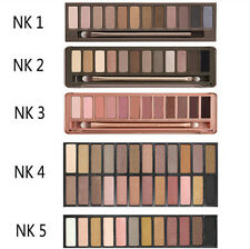 NK Pro Cosmetic Makeup 12 24 colors Eyeshadow Palette W/ Mirror Beauty Makeup