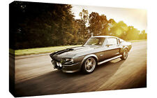 Mustang Shelby Eleanor Classic Car Canvas Wall Art Picture Print -Various Sizes